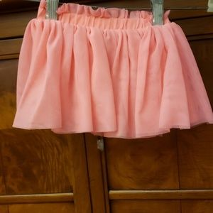 Baby Cat & Jack Pink Skirt Size 6-9 Mths Old